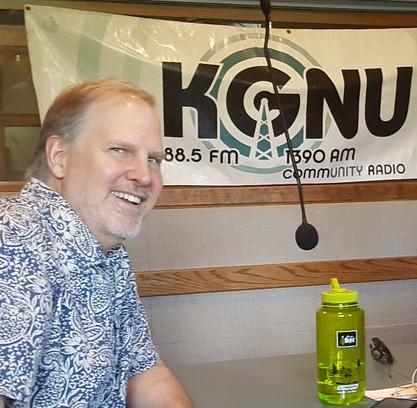 Gary at KGNU